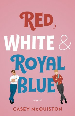 red, white and royal blue